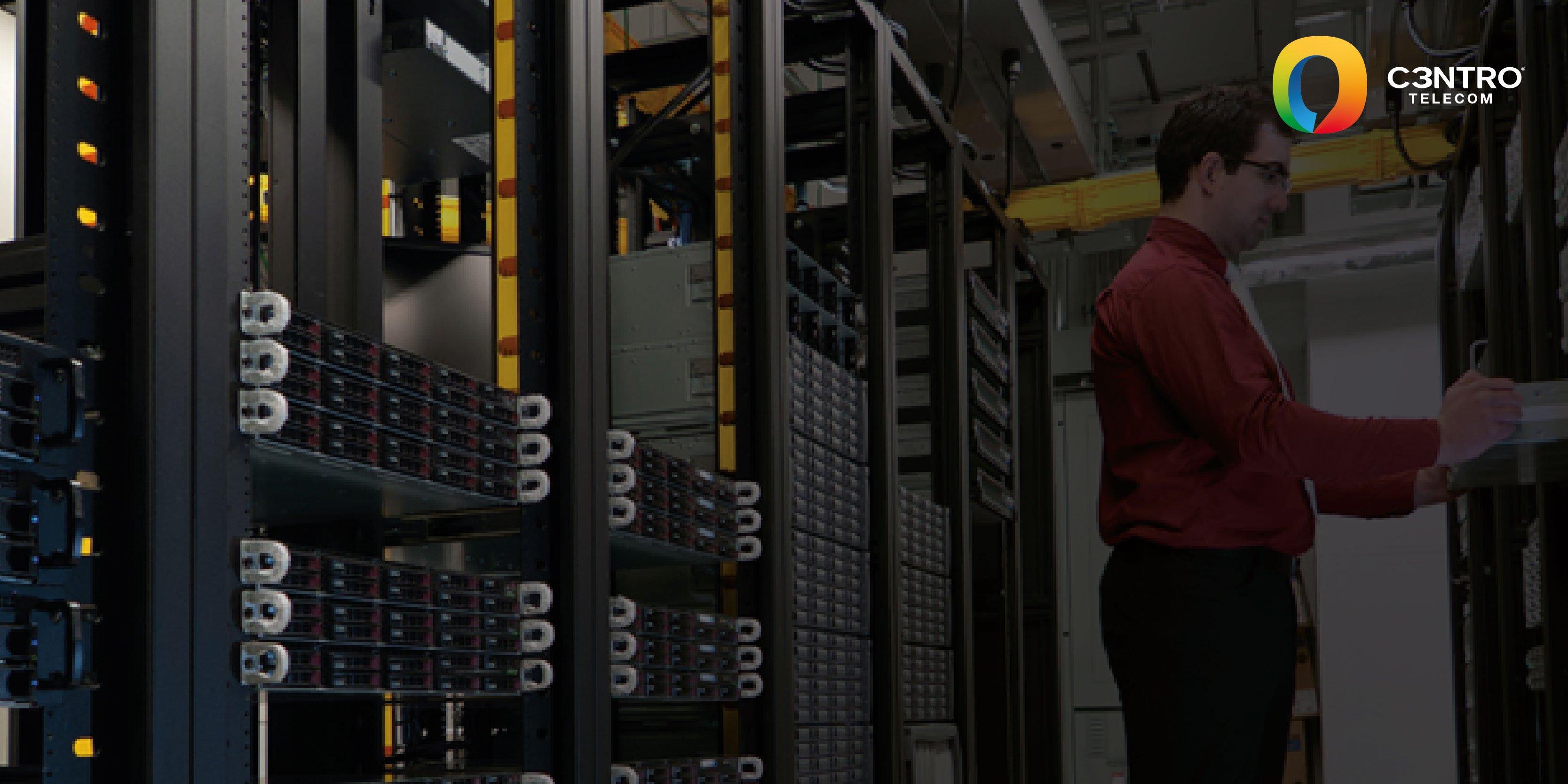 data center para conectividad a la nube empresarial