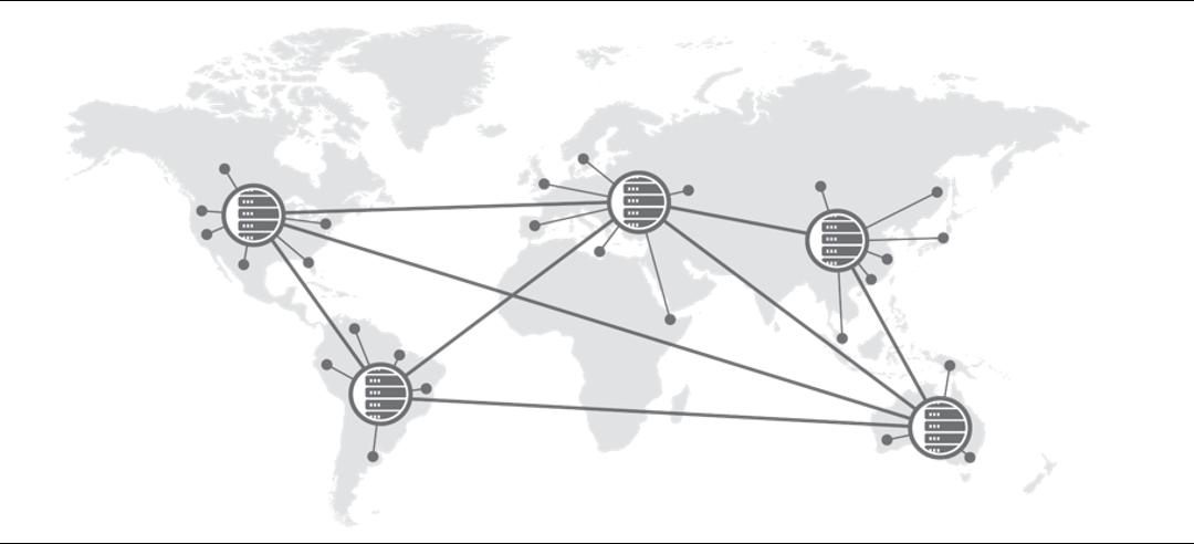 mapa de ubicacion de data center equinix